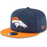 New Era Snapback 9FIFTY NFL 2018 Denver Broncos Football Sideline 11762569 001