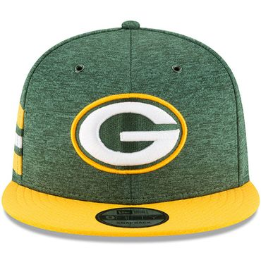 New Era Snapback 9FIFTY NFL 2018 Green Bay Packers Football Sideline 11762563 – Bild 3