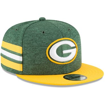 New Era Snapback 9FIFTY NFL 2018 Green Bay Packers Football Sideline 11762563 – Bild 2