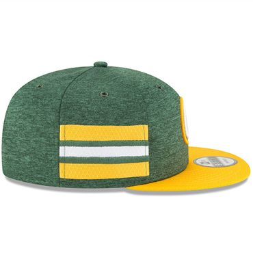 New Era Snapback 9FIFTY NFL 2018 Green Bay Packers Football Sideline 11762563 – Bild 4