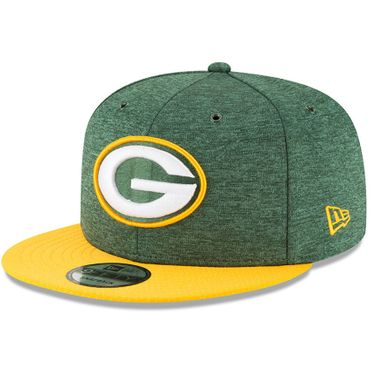New Era Snapback 9FIFTY NFL 2018 Green Bay Packers Football Sideline 11762563