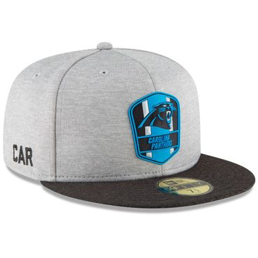 New Era Fitted On Field Cap 59Fifty Carolina Panthers Official Sideline Away 11762975 – Bild 2