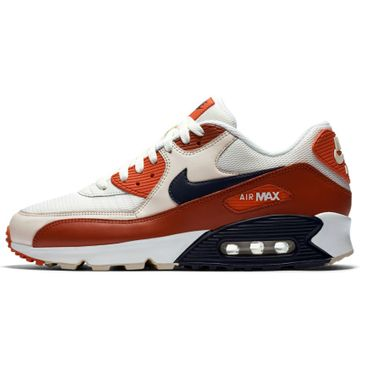 Nike Air Max 90 Essential Herren Sneaker weiß orange AJ1285 600 – Bild 2