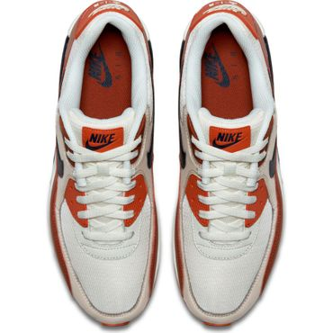 Nike Air Max 90 Essential Herren Sneaker weiß orange AJ1285 600 – Bild 4