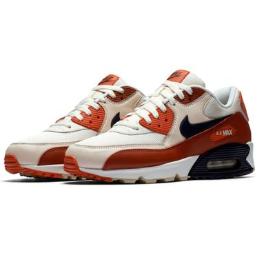 Nike Air Max 90 Essential Herren Sneaker weiß orange AJ1285 600 – Bild 3