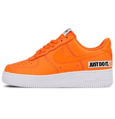 "Nike Air Force 1 '07 LV8 JDI Leather "" Just do it"" orange BQ5360 800 – Bild 2"