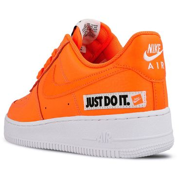 "Nike Air Force 1 '07 LV8 JDI Leather "" Just do it"" orange BQ5360 800 – Bild 4"