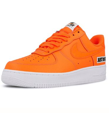 "Nike Air Force 1 '07 LV8 JDI Leather "" Just do it"" orange BQ5360 800 – Bild 3"