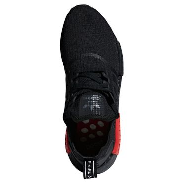 adidas Originals NMD_R1 Sneaker schwarz rot B37618 – Bild 4
