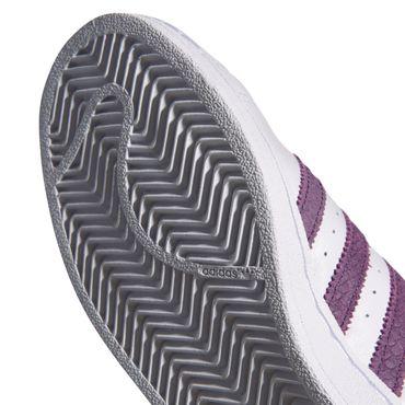 adidas Originals Superstar W Damen Sneaker weiß lila B41510 – Bild 5