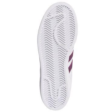 adidas Originals Superstar W Damen Sneaker weiß lila B41510 – Bild 6