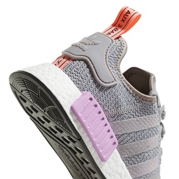 adidas Originals NMD_R1 W Damen Sneaker light granite B37647 – Bild 3