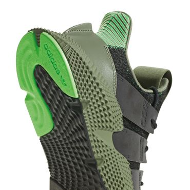 adidas Originals Prophere Herren Sneaker core black shock lime B37467 – Bild 2