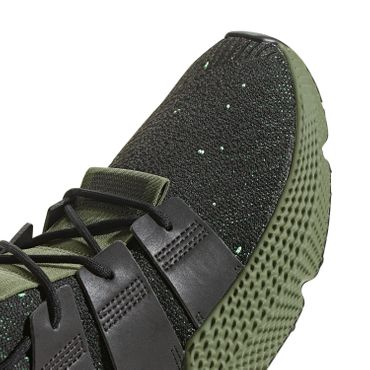 adidas Originals Prophere Herren Sneaker core black shock lime B37467 – Bild 4