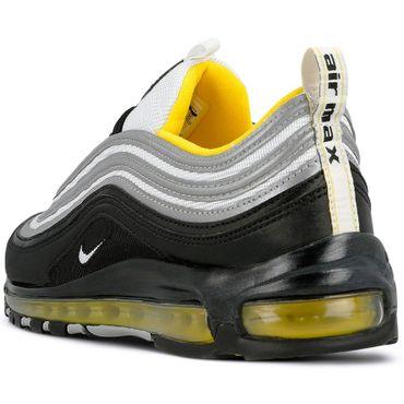 Nike Air Max 97 Herren Sneaker schwarz silber gelb 921826 008 – Bild 3