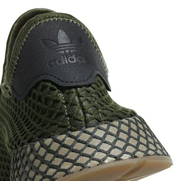 adidas Originals Deerupt Runner Herren Sneaker base green B41771 – Bild 5