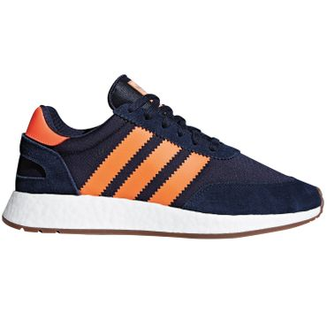 adidas Originals Iniki I-5923 Herren Sneaker navy orange B37919 – Bild 1