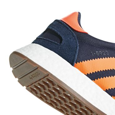 adidas Originals Iniki I-5923 Herren Sneaker navy orange B37919 – Bild 4