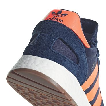 adidas Originals Iniki I-5923 Herren Sneaker navy orange B37919 – Bild 2