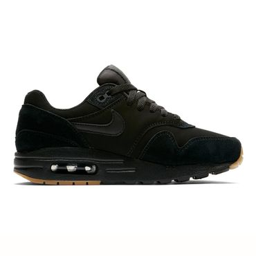 Nike Air Max 1 (GS) Kinder Sneaker schwarz 807602 008