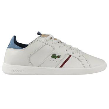 Lacoste Novas 418 1 SPM Sneaker off white navy 7-36SPM0034WN8 – Bild 1