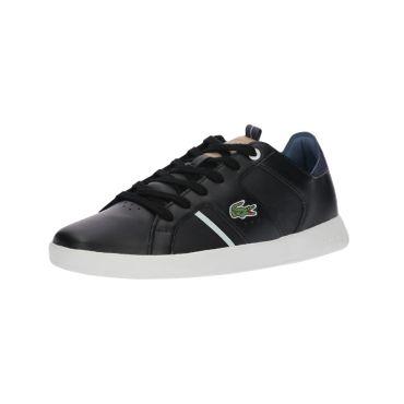 Lacoste Novas 418 1 SPM Sneaker schwarz weiß 7-36SPM003403J – Bild 5