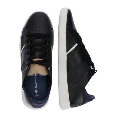 Lacoste Novas 418 1 SPM Sneaker schwarz weiß 7-36SPM003403J – Bild 6