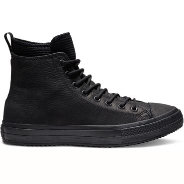 Converse Chuck Taylor All Star WP Leather Boot Hi schwarz 162409C – Bild 1