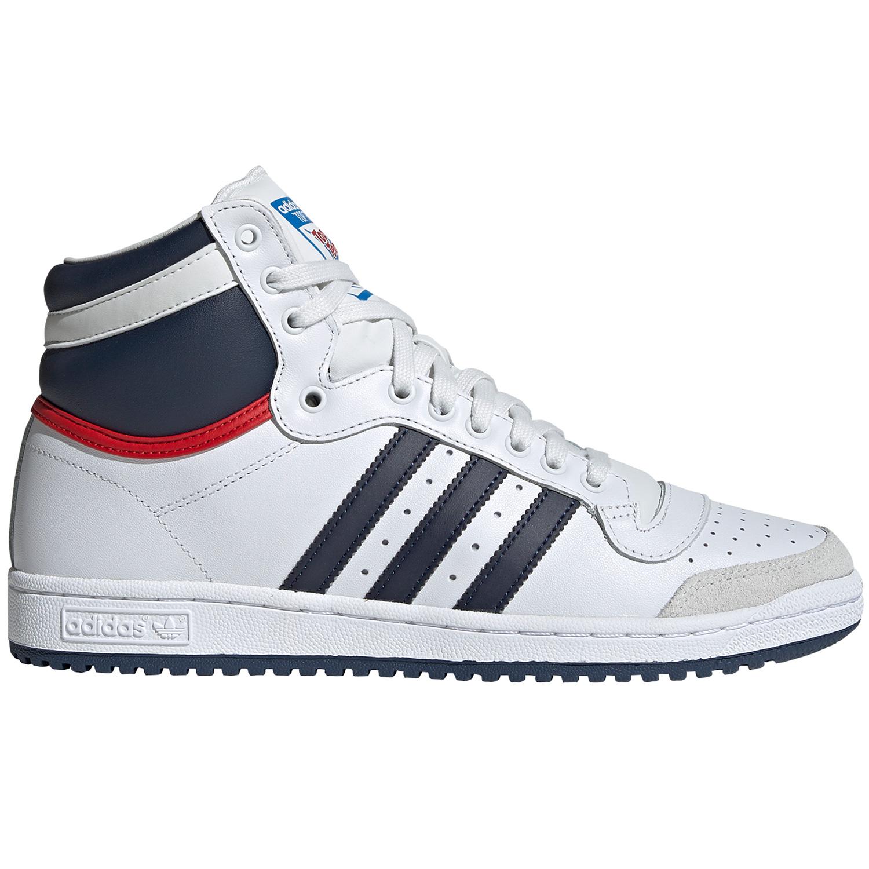adidas Originals Top Ten Hi weiß blau rot D65161