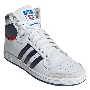 adidas Originals Top Ten Hi weiß blau rot D65161 – Bild 4