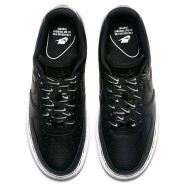 Nike Air Force 1 ' 07 SE PRM Damen Sneaker schwarz weiß AH6827 002 – Bild 4