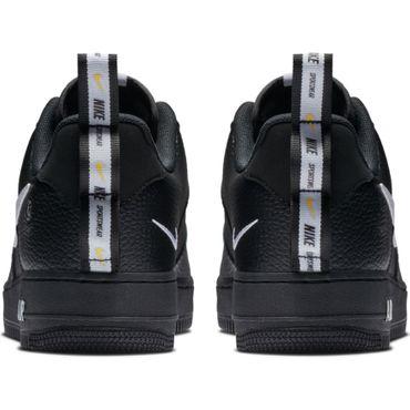 Nike Air Force 1 '07 LV8 Utility Herren Sneaker schwarz weiß AJ7747 001 – Bild 5
