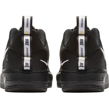 Nike Air Force 1 '07 LV8 Utility (GS) Sneaker schwarz weiß AR1708 001 – Bild 5