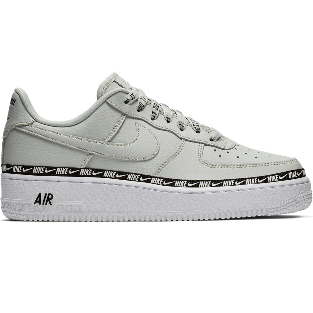 best service d1363 bfbc6 hot nike air force 1 07 se prm damen sneaker light silver ah6827 003 0041f  de930