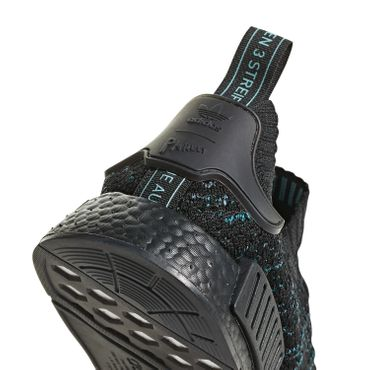 adidas Originals NMD_R1 STLT Parley PK schwarz blau AQ0943 – Bild 3