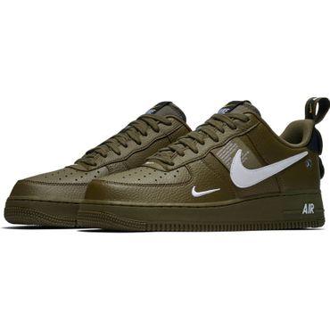 Nike Air Force 1 '07 LV8 Utility Herren Sneaker olive  AJ7747 300 – Bild 3