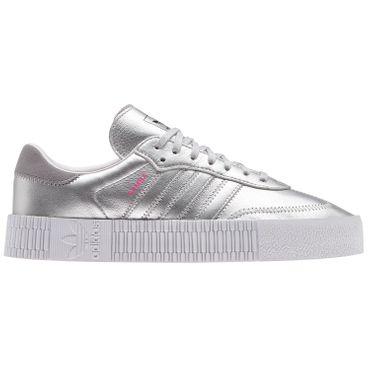 adidas Originals Sambarose W Damen silber weiß D96769 – Bild 1