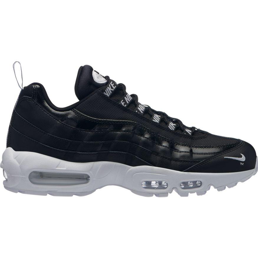 2dc0cb959b80ae Nike Air Max 95 Premium Herren Sneaker schwarz weiß 538416 020
