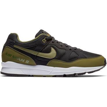 Nike Air Span II Herren Sneaker schwarz grün AH8047 011 – Bild 1