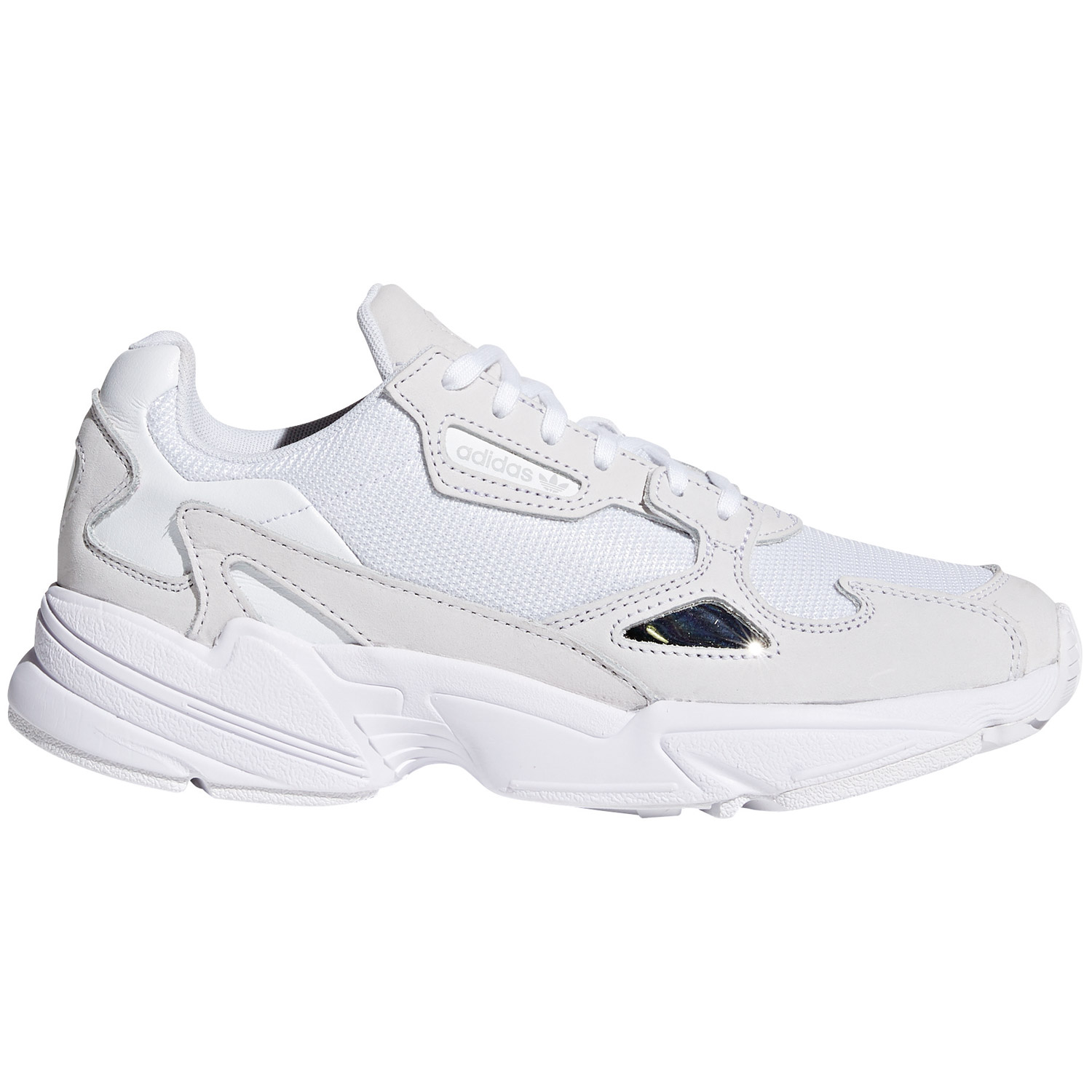 size 40 lower price with purchase cheap adidas Originals Falcon W Damen Sneaker weiß B28128