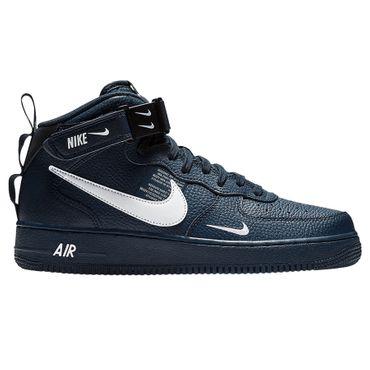 Nike Air Force 1 Mid '07 LV8 blau weiß 804609 403 – Bild 1