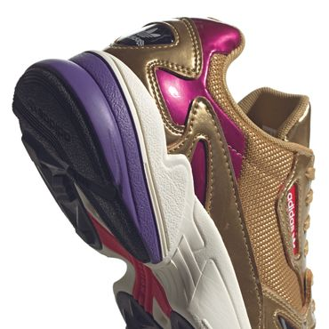 adidas Originals Falcon W Damen Sneaker gold metallic CG6247 – Bild 3