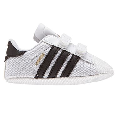 adidas Originals Superstar CRIB Kinder Sneaker weiß schwarz S79916 – Bild 1