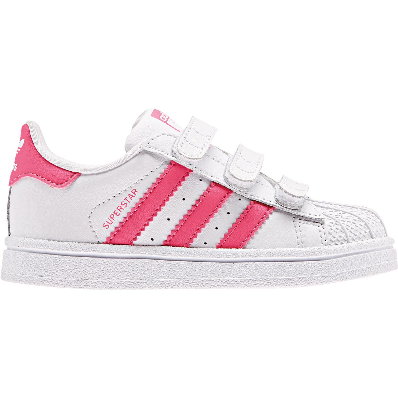 size 40 b019e 5e1b4 adidas Originals Superstar CF I Kinder Sneaker weiß pink CG6638