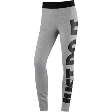 Nike NSW Legasee - Leggings Just Do It grau schwarz AR3511 063 – Bild 1