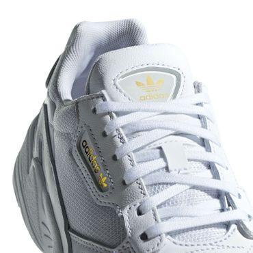 adidas Originals Falcon W Damen Sneaker weiß gold EE8838 – Bild 4