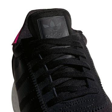 adidas Originals Iniki I-5923 Herren Sneaker schwarz pink BD7804 – Bild 2
