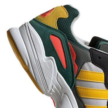 adidas Originals Yung -96 Herren Sneaker grau schwarz grün gelb DB2605 – Bild 2