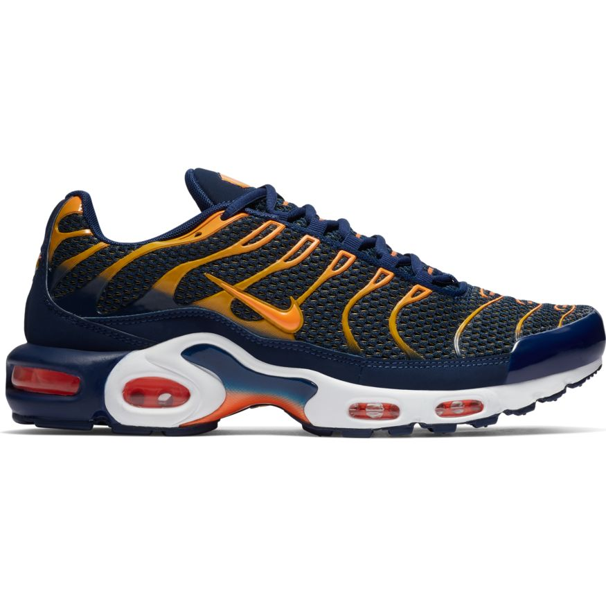 half off dd6bf a6735 Nike Air Max Plus Herren Sneaker blau orange 852630 408