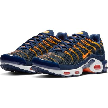 Nike Air Max Plus Herren Sneaker blau orange 852630 408 – Bild 3